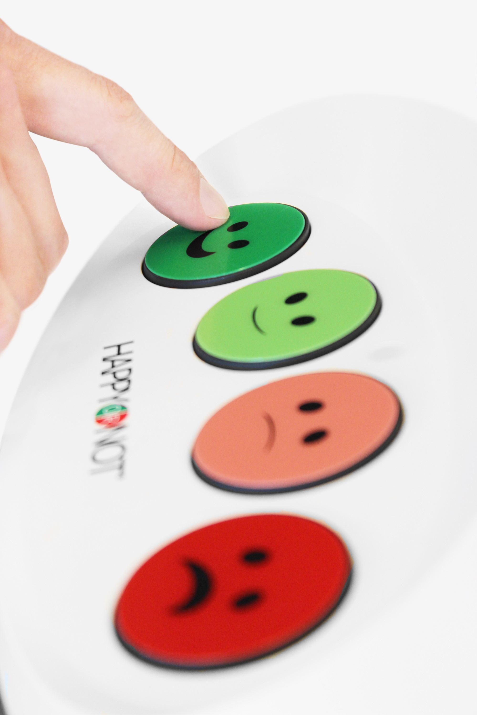 HappyOrNot Smiley Terminal Buttons