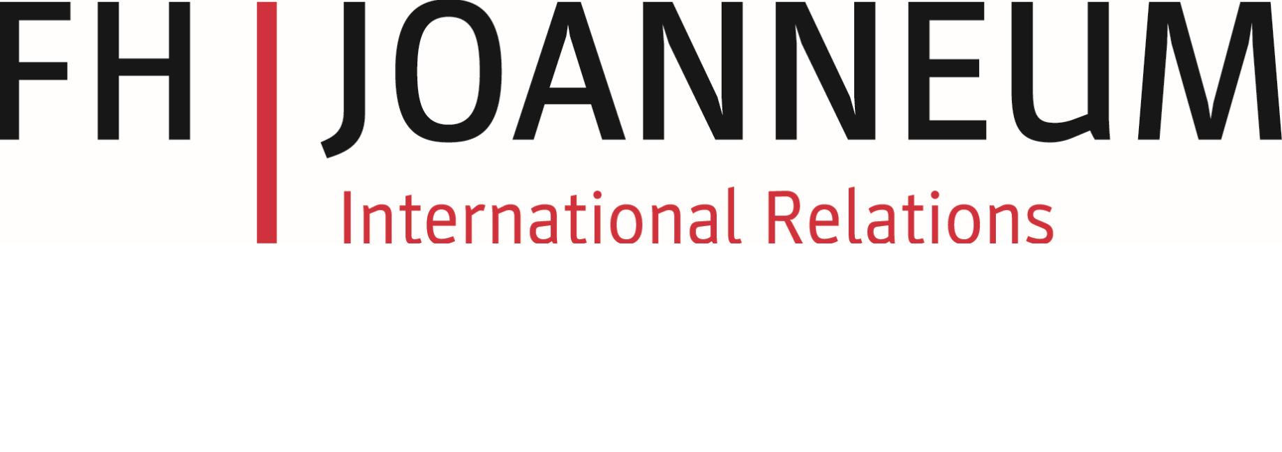 FH Joanneum International Relations Logo
